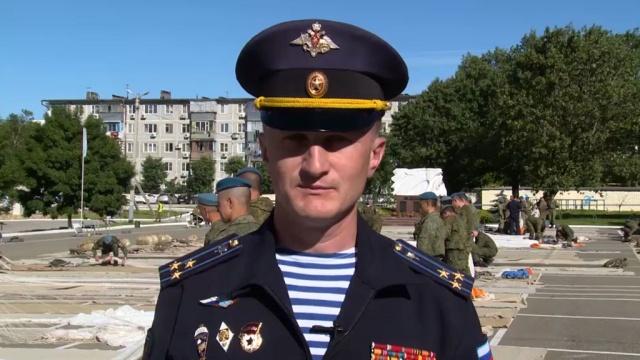 Андрей Кондрашкин— полковник, командир 108-го десантно-штурмового полка ВДВ.НТВ.Ru: новости, видео, программы телеканала НТВ