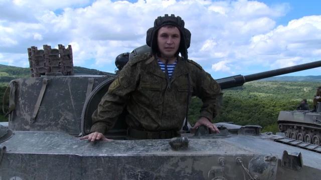Евгений Махортов— старший лейтенант, зам. командира разведроты.НТВ.Ru: новости, видео, программы телеканала НТВ