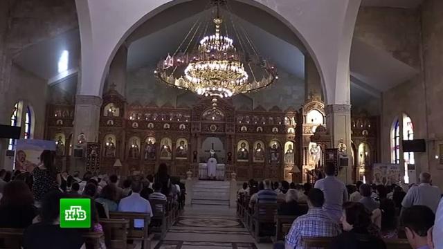 Жители Алеппо восстанавливают христианские храмы и мусульманские мечети.войны и вооруженные конфликты, религия, Сирия, христианство, ислам.НТВ.Ru: новости, видео, программы телеканала НТВ