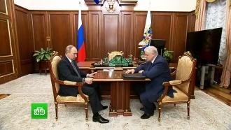 Путин обсудил сМироновым проблему сноса дачных построек