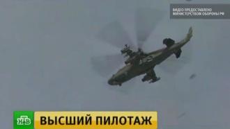 «Русские витязи» на новейших Су-30СМ впервые отработали дозаправку в воздухе