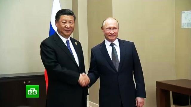 Путин назвал событием года визит Си Цзиньпина в Москву.Астана, Китай, Путин, ШОС.НТВ.Ru: новости, видео, программы телеканала НТВ