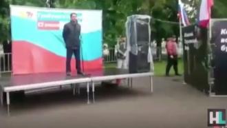 Леонид Волков обматерил выступавших в Уфе сторонников Навального