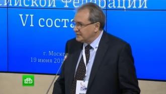 Общественную палату возглавил телеведущий Валерий Фадеев