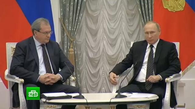 Путин провел встречу сновыми экспертами Общественной палаты.Общественная палата, Путин.НТВ.Ru: новости, видео, программы телеканала НТВ