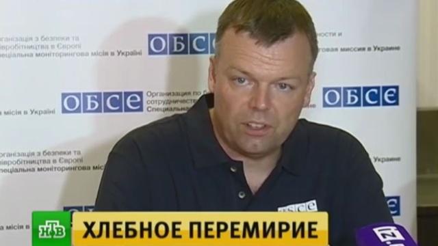 Хлебное перемирие в Донбассе вступит в силу в полночь 24 июня.Украина, войны и вооруженные конфликты, перемирие.НТВ.Ru: новости, видео, программы телеканала НТВ