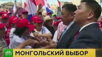 Главной интригой выборов вМонголии стал вопрос осотрудничестве сРоссией