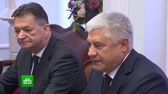 Глава МВД РФ игенсек Интерпола обсудили вопросы сотрудничества