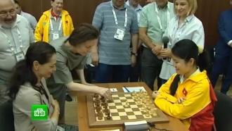 Российские шахматистки впервые выиграли командный чемпионат мира