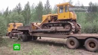 Минобороны направило тяжелую технику на тушение лесных пожаров