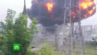 Жители Томска остались без света <nobr>из-за</nobr> взрыва на электроподстанции