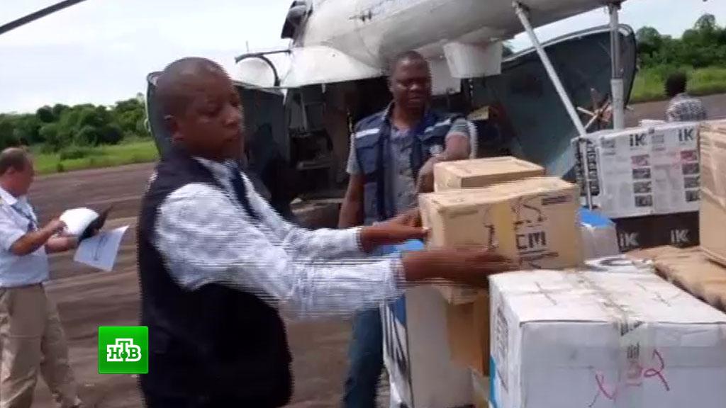 В Гвинею отправили первую партию российской вакцины от лихорадки Эбола.Африка, медицина, Эбола, эпидемия.НТВ.Ru: новости, видео, программы телеканала НТВ