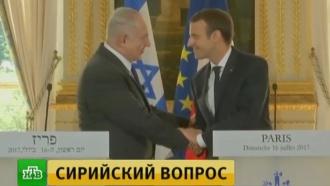 Израиль выступил против соглашения России иСША оперемирии вСирии