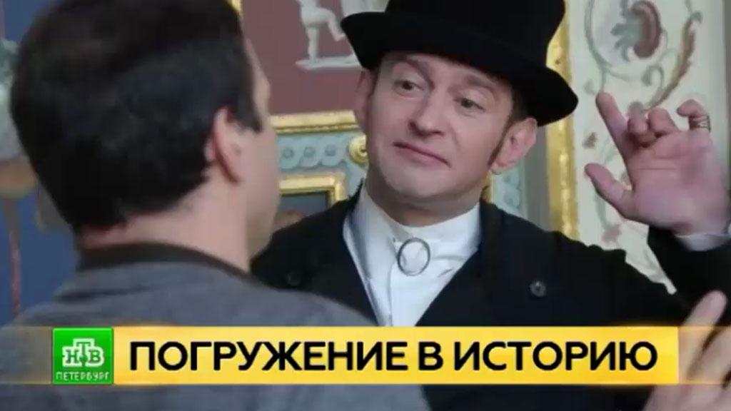 Константин Хабенский приглашает на виртуальную прогулку по Эрмитажу