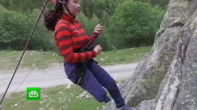 Дети с ограниченными возможностями совершили восхождение на Эльбрус.SOS, Эльбрус, альпинизм, благотворительность, инвалиды.НТВ.Ru: новости, видео, программы телеканала НТВ