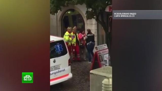 Нападение мужчины с бензопилой на прохожих в Швейцарии не считают терактом.нападения, Швейцария.НТВ.Ru: новости, видео, программы телеканала НТВ