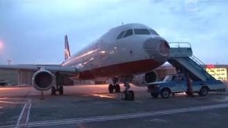 Град изрешетил Boeing во время посадки в Стамбуле