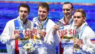 Российские пловцы взяли три золота на ЧМ вБудапеште