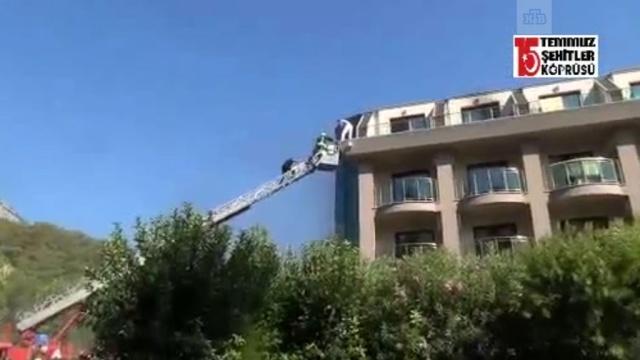 Пожар в турецком отеле: видео с места.отели и гостиницы, пожары, туризм и путешествия, Турция.НТВ.Ru: новости, видео, программы телеканала НТВ