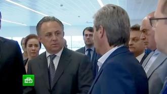 Мутко приехал с инспекцией в калининградский аэропорт Храброво