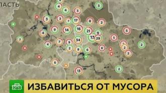 Активисты ОНФ нашли сотни несанкционированных свалок вПодмосковье