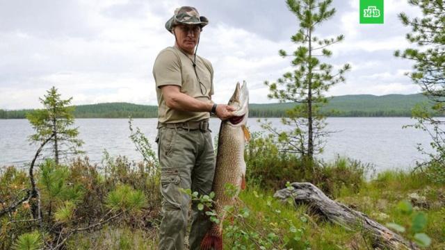 Путин на рыбалке: архивные фото.НТВ.Ru: новости, видео, программы телеканала НТВ