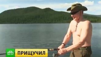 Отдых вСибири глазами президента: уникальные кадры приключений Путина на природе