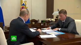 Президент вручил псковскому губернатору папку сжалобами местных жителей