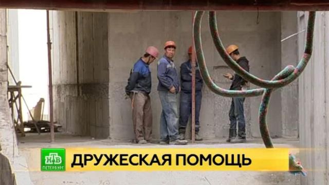 Академию танцев Бориса Эйфмана помогают реконструировать белорусские студенты.Санкт-Петербург, балет, вузы, строительство.НТВ.Ru: новости, видео, программы телеканала НТВ