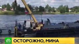 В ЗВО опровергли информацию об обнаруженной в Неве мине