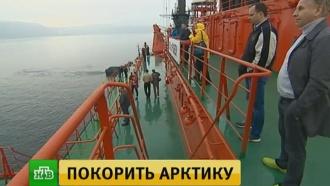 Атомоход «50лет Победы» отправился вАрктику по легендарному маршруту 1977года