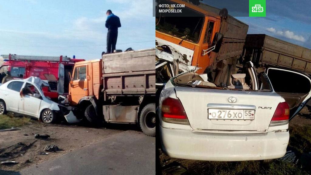 ВТюменской области в итоге ДТП погибла семья изОмска
