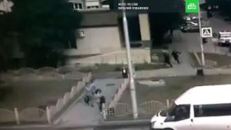 Ликвидация устроившего резню вСургуте попала на видео