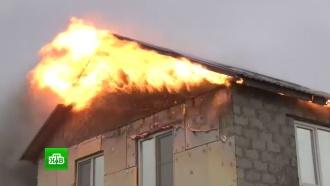 Причиной крупных пожаров под Волгоградом стали поджоги