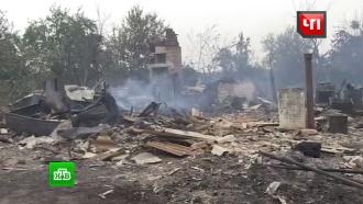 Пожарные защитили от огня 40 сел в Волгоградской области