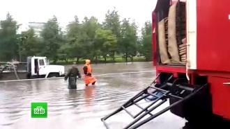 На Псковскую область обрушился сильнейший за 20 лет ливень