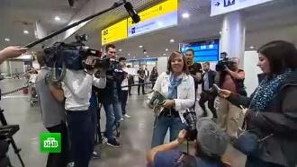 Похищенная вКиеве журналистка Курбатова вернулась вМоскву