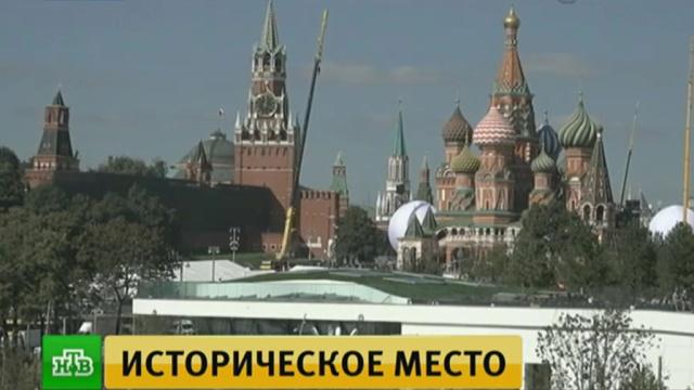 Жители игости Москвы собираются на празднование Дня города.Москва, парки и скверы, торжества и праздники.НТВ.Ru: новости, видео, программы телеканала НТВ