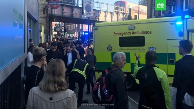 ВЛондоне произошел взрыв вметро: есть пострадавшие.Лондон, взрывы, метро.НТВ.Ru: новости, видео, программы телеканала НТВ