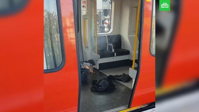 Появилось видео сместа взрыва вметро Лондона.Лондон, взрывы, метро.НТВ.Ru: новости, видео, программы телеканала НТВ