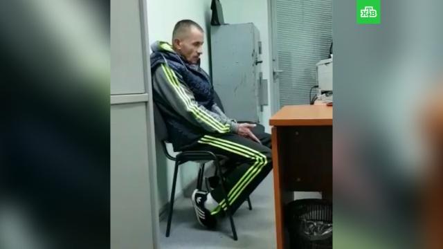 «Он дал 10 тысяч»: видео допроса подозреваемого в нападении на Ляскина.Москва, Навальный, нападения, оппозиция, полиция, эксклюзив.НТВ.Ru: новости, видео, программы телеканала НТВ