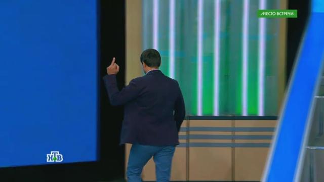 Украинского политолога выгнали из студии НТВ.НТВ, Украина, скандалы, телевидение, эксклюзив.НТВ.Ru: новости, видео, программы телеканала НТВ