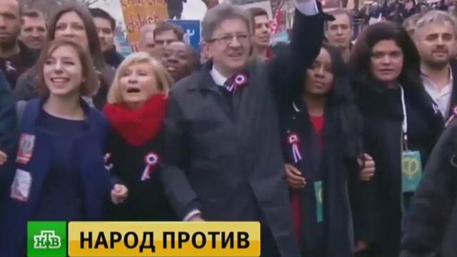 Возмущенные французы готовятся к массовой акции против трудовой реформы.Макрон, Франция, законодательство, митинги и протесты.НТВ.Ru: новости, видео, программы телеканала НТВ