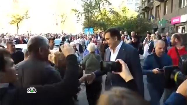 Саакашвили на Украине встречали борщом иприглашали вгости.Порошенко, Саакашвили, Украина, гражданство, митинги и протесты.НТВ.Ru: новости, видео, программы телеканала НТВ