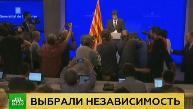 ВКаталонии назвали сроки провозглашения независимости.Испания, Каталония, референдумы.НТВ.Ru: новости, видео, программы телеканала НТВ