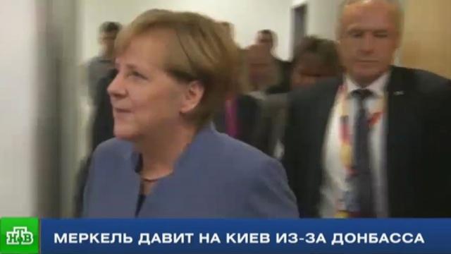 В Раде всполошились после звонка Меркель с требованиями по Донбассу.Меркель, Украина.НТВ.Ru: новости, видео, программы телеканала НТВ