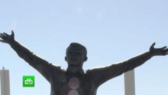 Во Франции открыли памятник Юрию Гагарину