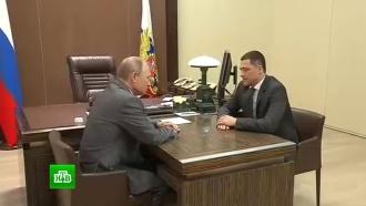 Путин отправил вотставку псковского губернатора Турчака