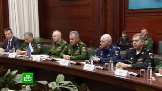 Шойгу иде Мистура вМоскве обсудили урегулирование вСирии
