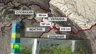 Погранслужба Украины вернула контроль над частью приватизированной земли на границе с Венгрией